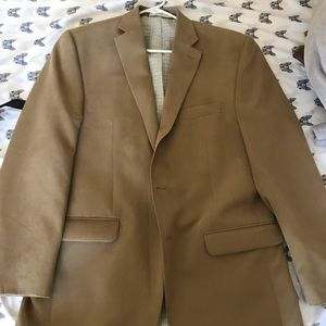 Men's polo Ralph Lauren tan blazer size small